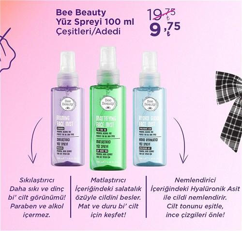 Bee Beauty Yüz Spreyi 100 ml Çeşitleri/Adet image