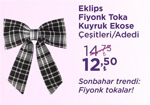 Eklips Fiyonk Toka Kuyruk Ekose Çeşitleri/Adet image