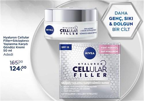 Nivea Hyaluron Cellular Filler+Sıkılaştırıcı Yaşlanma Karşıtı Gündüz Kremi 50 ml image