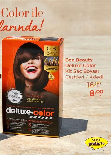Bee Beauty Deluxe Color Kit Saç Boyası Çeşitleri/Adet image