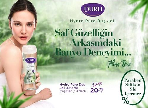 Duru Hydro Pure Duş Jeli 450 ml Çeşitleri/Adet image