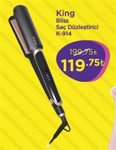 King Bliss Saç Düzleştirici K-914 image