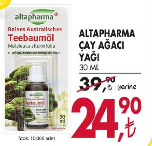 Altapharma Çay Ağacı Yağı 30 Ml image