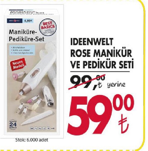 Ideenwelt Rose Manikür ve Pedikür Seti image