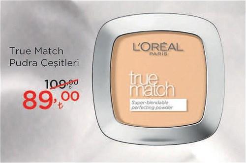 Loreal Paris True Match Pudra Çeşitleri image