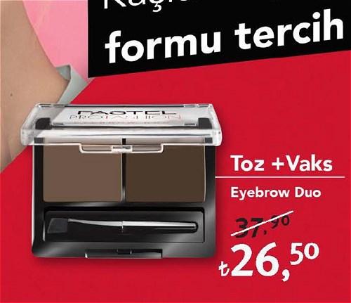 Pastel Toz+Vaks Eyebrow Duo image