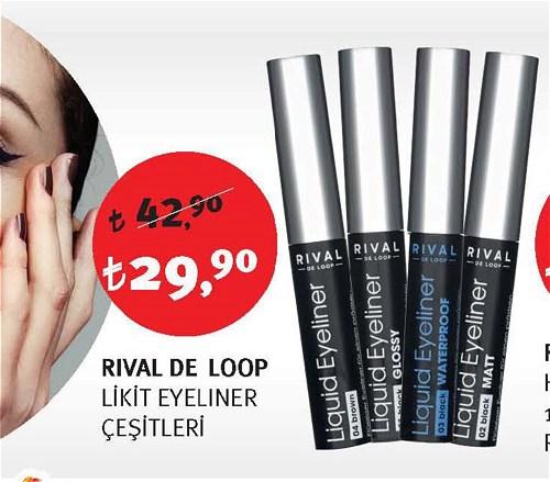 Rival De Loop Likit Eyeliner Çeşitleri image