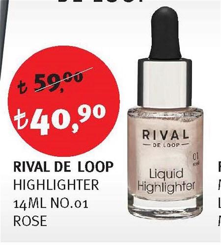 Rival De Loop Highlighter 14 Ml No.1 Rose image