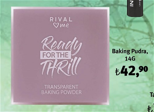 Rival Love Me Ready For The Thrill Baking Pudra 14G image