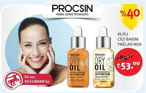 Procsin Kuru Cilt Bakım Yağları image