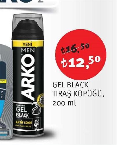 Arko Gel Black Tıraş Köpüğü 200 ml image