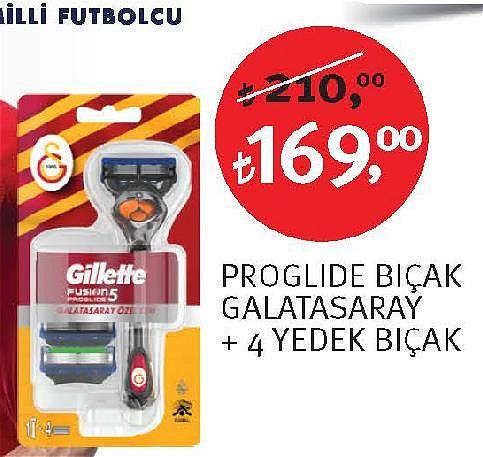 Gillette Proglide Bıçak Galatasaray image