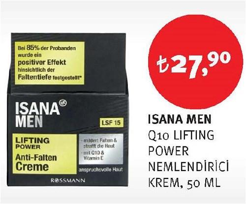 Isana Men Q10 Lifting Power Nemlendirici Krem 50 Ml image