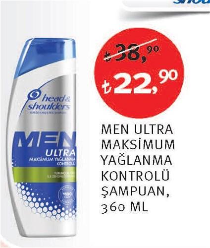 Head&Shoulders Men Ultra Maksimum Yağlanma Kontrolü Şampuan 360 Ml image
