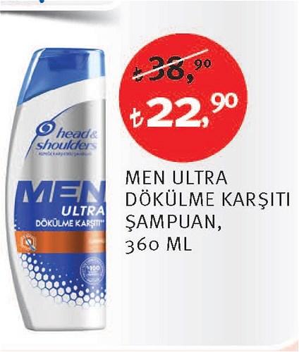 Head&Shoulders Men Ultra Dökülme Karşıtı Şampuan 360 Ml image
