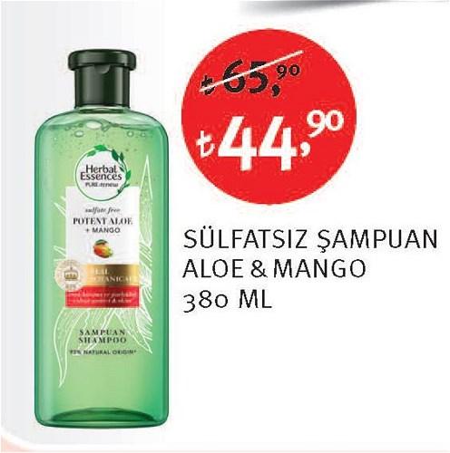 Herbal Essences Sülfatsız Şampuan Aloe & Mango 380 Ml image