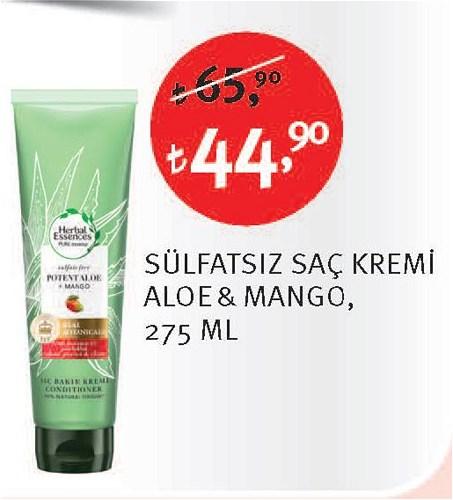 Herbal Essences Sülfatsız Saç Kremi Aloe & Mango 275 Ml image