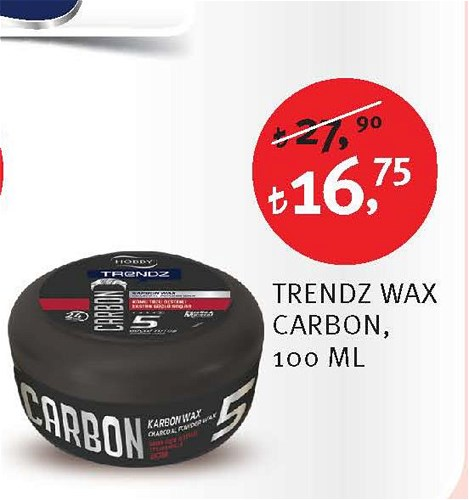 Hobby Trendz Wax Carbon 100 Ml image