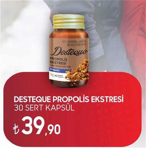 Desteque Propolis Ekstresi 30 Sert Kapsül image