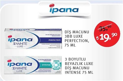 İpana Diş Macunu 3BB Luxe Perfection 75 Ml/3 Boyutlu Beyazlık Luxe Diş Macunu In image