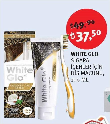 White Glo Sigara İçenler İçin Diş Macunu 100 Ml image