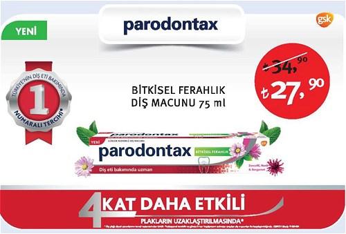Paradontax Bitkisel Ferahlık Diş Macunu 75 ml image
