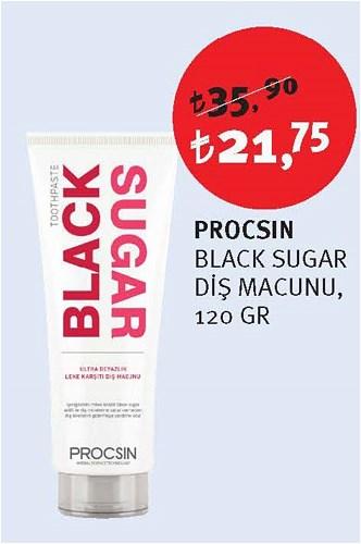 Procsin Black Sugar Diş Macunu 120 Gr image