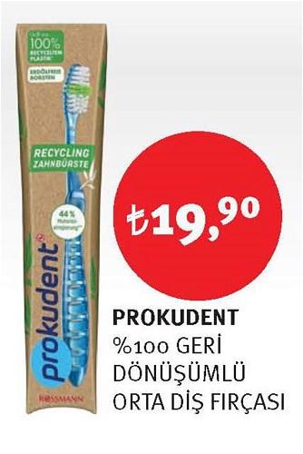 Prokudent %100 Geri Dönüşümlü Orta Diş Fırçası image