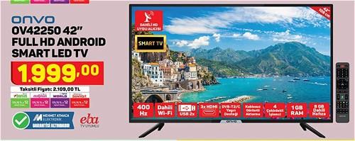 "Onvo OV42250 42"" Full Hd Android Smart Led Tv image"
