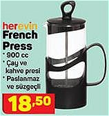 Herevin French Press 900 cc image