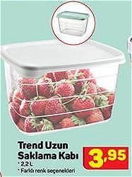 Trend Uzun Saklama Kabı 2,2 L image