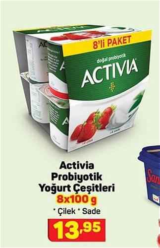 Activia Probiyotik Yoğurt Çeşitleri 8x100 g image