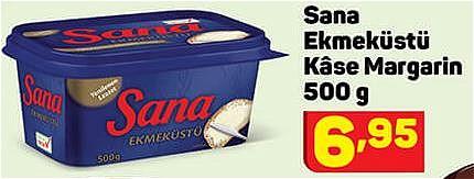 Sana Ekmeküstü Kase Margarin 500 g image