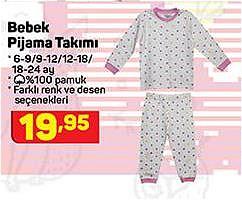 Bebek Pijama Takımı image
