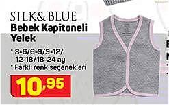 Silk&Blue Bebek Kapitoneli Yelek image