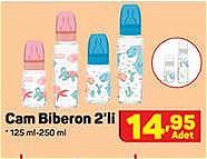 Cam Biberon 2'li 125 ml-250 ml image