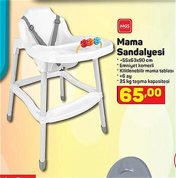 Mgs Mama Sandalyesi  image