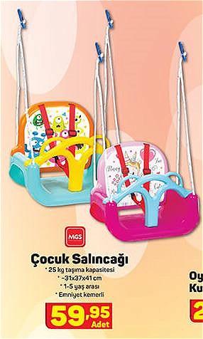 MGS Oyuncak Çocuk Salıncağı image
