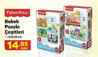 Fisher Price Bebek Puzzle Çeşitleri/Adet image