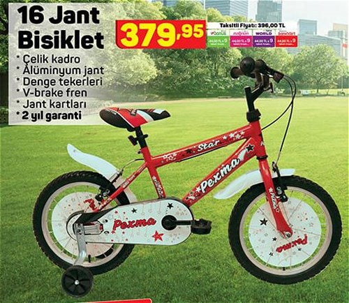 16 Jant Bisiklet image
