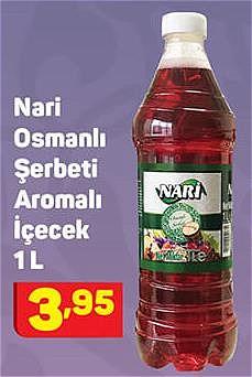 Nari Osmanlı Şerbeti Aromalı İçecek 1 L image