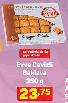 Evve Cevizli Baklava 350 g image
