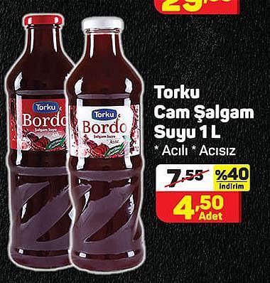 Torku Cam Şalgam Suyu 1 L image