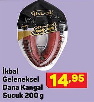 İkbal Geleneksel Dana Kangal Sucuk 200 g image