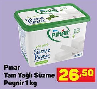 Pınar Tam Yağlı Süzme Peynir 1 kg image