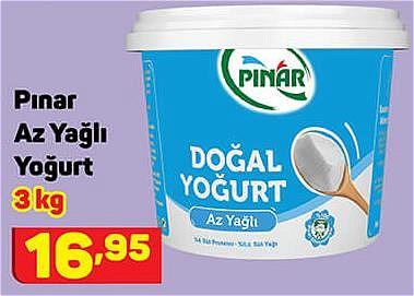 Pınar Az Yağlı Yoğurt 3 kg image