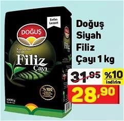 Doğuş Siyah Filiz Çayı 1 kg image