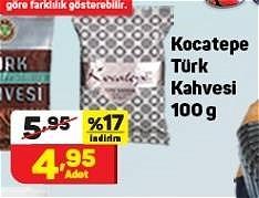 Kocatepe Türk Kahvesi 100 g image