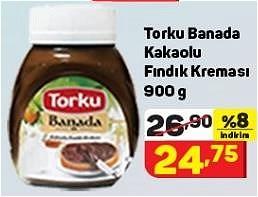 Torku Banada Kakaolu Fındık Kreması 900 g image