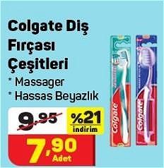 Colgate Diş Fırçası Çeşitleri/Adet image